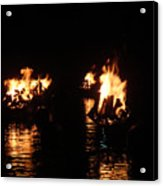 Water Fire Acrylic Print