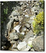 Water Flowing 6 Acrylic Print