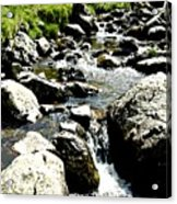 Water Flowing 7 Acrylic Print