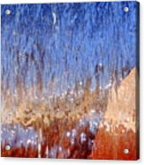Water Fountain Abstract #63 Acrylic Print