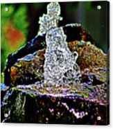 Water From Stone Acrylic Print