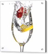 Water Glass3 Acrylic Print