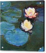 Water Lilies 1899 Acrylic Print