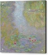 Water Lilies 1908 Acrylic Print