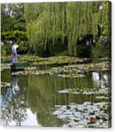 Water Lily Garden Of Monet In Giverny Acrylic Print