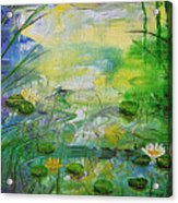 Water Lily Pond 1 Acrylic Print