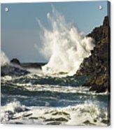 Water Meets Rock Acrylic Print