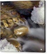 Water 'n Ice Acrylic Print