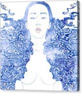 Water Nymph Lxxx Acrylic Print