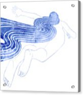 Water Nymph Xlvii Acrylic Print