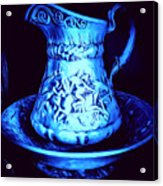 Water Pitcher And Bowl Still Life Acrylic Print