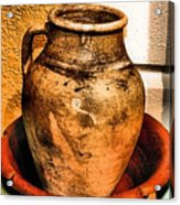 Water Pitcher Acrylic Print by Jimmy Ostgard