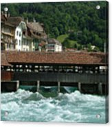 Water Power Lucerne Acrylic Print