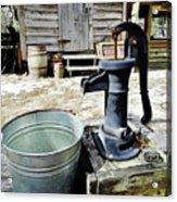 Water Pump Acrylic Print