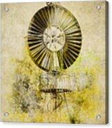 Water-pumping Windmill Acrylic Print