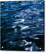 Water Ripples On Surface Acrylic Print