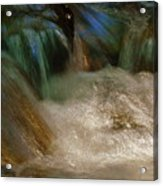 Water Rush Acrylic Print