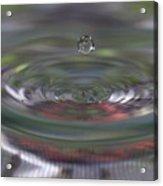 Water Sculpture Green Series 2 Acrylic Print