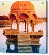 Water Shrine Acrylic Print