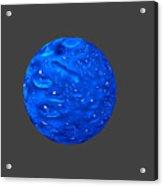 Water Sphere. Acrylic Print