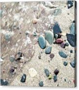 Water Stones Acrylic Print