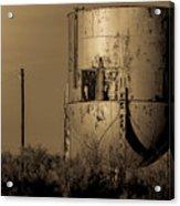 Water Tank Acrylic Print
