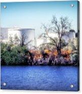 Water Tanks Acrylic Print