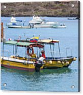 Water Taxis Waiting Acrylic Print