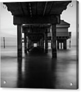 Water Under The Dock Acrylic Print