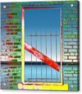 Water Window 2 Acrylic Print