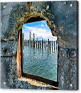 Water Window Acrylic Print