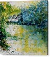 Watercolor  011108 Acrylic Print