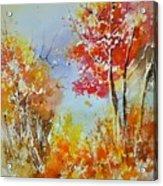 Watercolor 011121 Acrylic Print