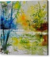Watercolor 015003 Acrylic Print