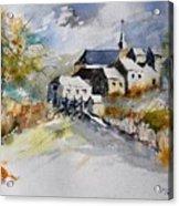 Watercolor 015022 Acrylic Print