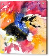 Watercolor 017081 Acrylic Print