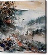 Watercolor  081108 Acrylic Print