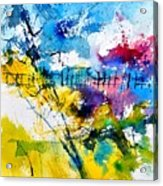 Watercolor 114052 Acrylic Print