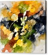 Watercolor 115002 Acrylic Print