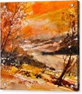 Watercolor 115011 Acrylic Print