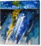 Watercolor 119001 Acrylic Print