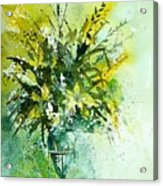 Watercolor  120406 Acrylic Print