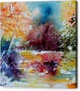 Watercolor 140908 Acrylic Print
