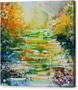 Watercolor  230507 Acrylic Print