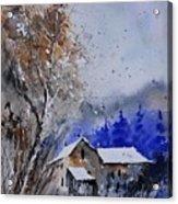 Watercolor 45512113 Acrylic Print