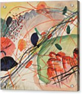 Watercolor 6 Wassily Kandinsky, 1911 Acrylic Print