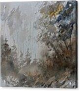 Watercolor 614010 Acrylic Print