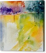 Watercolor 800142 Acrylic Print