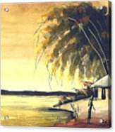 Watercolor 85 Acrylic Print