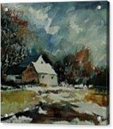 Watercolor  900111 Acrylic Print